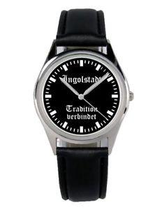 【送料無料】腕時計 ウォッチ インゴルシュタットマーケティングファンアクセサリアラームingolstadt tradicin regalo fan artculo accesorios mercadotecnia reloj b1981