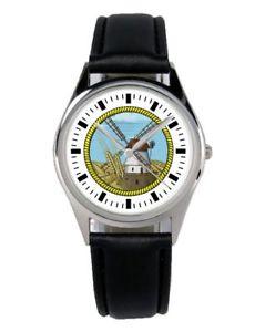 【送料無料】腕時計 ウォッチ ファンアクセサリマーケティングアラームmolinos de viento regalo fan artculo accesorios mercadotecnia reloj b2214
