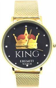 【送料無料】腕時計 ウォッチ キングサイズクイーンサイズorologio watch personalizzato acciaio inox fidanzamento king queen idea regalo