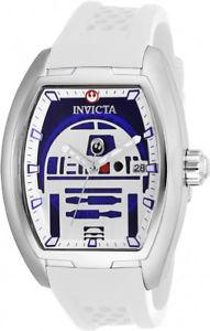 【送料無料】腕時計 ウォッチ ステンレススチールスターウォーズシリコンウォッチinvicta hombre star wars automtico acero inoxidableblanco reloj de silicona