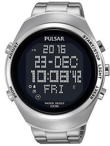 【送料無料】腕時計 ウォッチ アラームクロノグラフデジタルプレスクロノplsar reloj hombre digitalchronograph pulsar x chrono pq2055x1