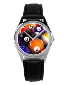 【送料無料】腕時計 ウォッチ ビリヤードプールテーブルアクセサリーマーケティングファンアラームbillar mesa de billar regalo fan artculo accesorios mercadotecnia reloj b1971