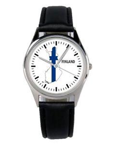 【送料無料】腕時計 ウォッチ フィンランドファンマーケティングアクセサリアラームfinland souvenir regalo fan artculo accesorios mercadotecnia reloj b1103