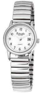 【送料無料】腕時計 ウォッチ ステンレススチールアナログeichmller seora reloj pulsera reloj analgico acero inoxidable indica la fecha gorros plateados