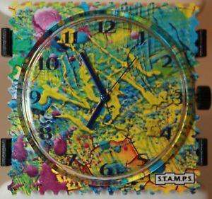 【送料無料】腕時計 ウォッチ フィールドスタンプstamps esfera painting 105076 stamps