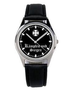 【送料無料】腕時計 ウォッチ ジーゲンファンkmpfen und siegen soldat geschenk fan artikel zubehr fanartikel uhr b2164