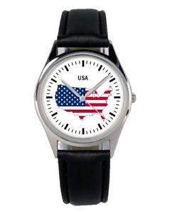 【送料無料】腕時計 ウォッチ マーケティングファンアクセサリアラームestados unidos united states regalo fan artculo accesorios mercadotecnia reloj b1264