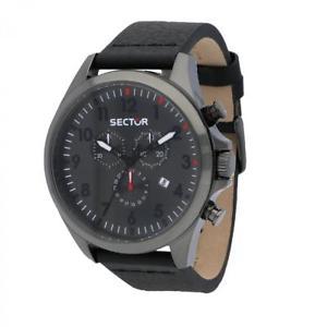 【送料無料】腕時計 ウォッチ セクタークロノグラフorologio cronografo uomo sector 180 r3271690026 marrone scuro nuova collezione