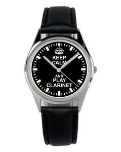 【送料無料】腕時計 ウォッチ クラリネットクラリネットファンアクセサリマーケティングアラームclarinete clarinet regalo fan artculo accesorios mercadotecnia reloj b2264