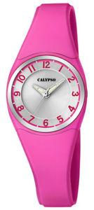 【送料無料】腕時計 ウォッチ カリプソクオーツピンクプラスチックcalypso reloj de pulsera mujer cuarzo plstico con rosa anlogo k57265