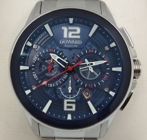 【送料無料】腕時計 ウォッチ クロノグラフduward aquastar 100m wr chronograph