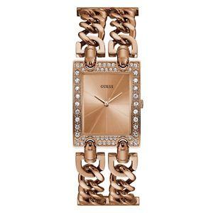 【送料無料】腕時計 ウォッチ レディースピンクゴールドウォッチguess seoras reloj con cuadrante oro rosa w1121l3