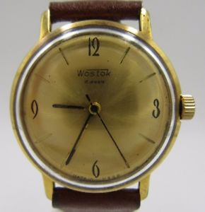【送料無料】腕時計 ウォッチ ビンテージマニュアルワインディングl187 vintage wostok defectuoso cuerda manual reloj de hombre reloj pulsera