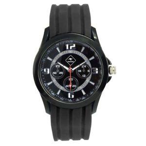 【送料無料】腕時計 ウォッチ パースシリコンブレスレットroadsign perth reloj pulsera hombre, pulsera silicn negro