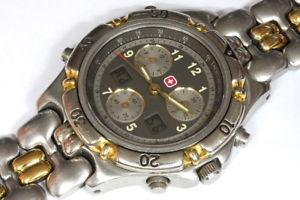 腕時計 ウォッチ スイスタキメータークオーツクロノグラフswiss military eta 251265 tachymeter quartz chronograph