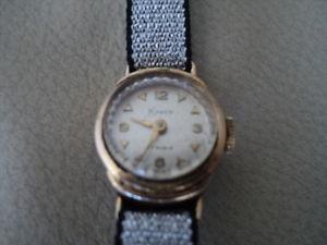 【送料無料】腕時計 ウォッチ ビンテージレディーススイスvintage antiguo kawen 17 rubis hecho en suiza reloj de seoras de caso ley 20 rw