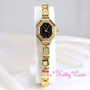 【送料無料】腕時計 ウォッチ ゴールドアールデコオクタゴンスワロフスキークリスタルジェomax impermeable gold pl deco octagon declaracin watch w cristales swarovski je0474