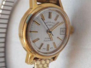 【送料無料】腕時計 ウォッチ ドレスビンテージクロックロータリーレディースun vestido de viento manual vintage rotary reloj de seoras