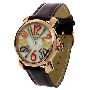 【送料無料】腕時計 ウォッチ レディースマルチカラーフィールドローマイートンアラームパープルベルトdamas de color multi esfera nmeros romanos eton amp; reloj con correa de pu prpura 3045j