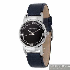 【送料無料】腕時計 ウォッチ シンプルクロックマダムデザインadora design reloj ad8448 simple seora reloj de pulsera con cuero negro