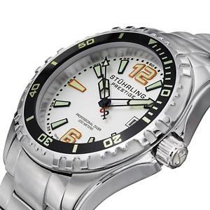 腕時計 ウォッチ キャプテンサファイアクォーツsthurling regatta capitn hombres 44mm sinttico zafiro reloj de cuarzo