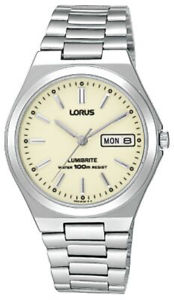 【送料無料】腕時計 ウォッチ ナイツブレスレットアラームlorus caballeros pulsera reloj rxn31bx9 lumibrite