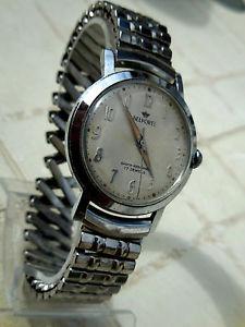 【送料無料】腕時計 ウォッチ プレミアインマンチェスタートラフォードセンタールビーブロックancienne montre mecanique suisse belforte,17 rubis, annee 50,remontoire bloque