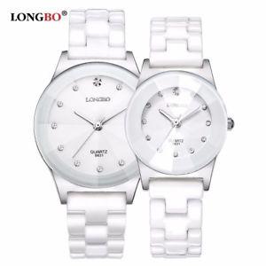 【送料無料】腕時計 ウォッチ セラミックウォッチファッションジュネーブカップルケベック2017 luxury longbo men women ceramic watch fashion geneva couple watches male qu
