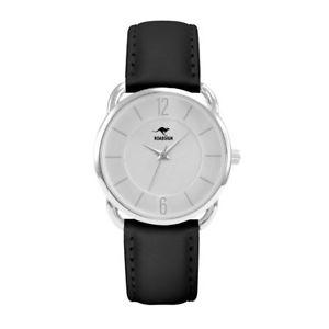 【送料無料】腕時計 ウォッチ シドニーブラックレザーroadsign sydney seora reloj de pulsera, cuero negro