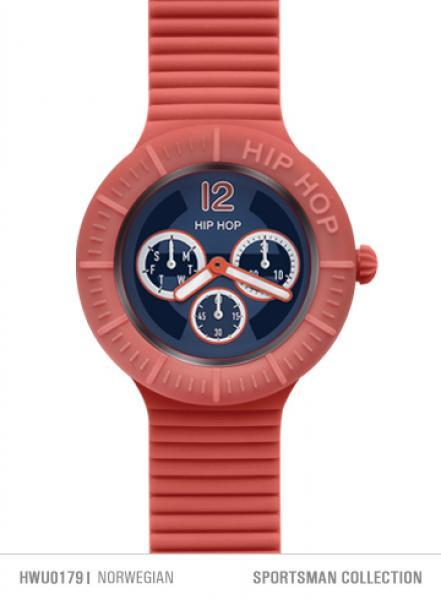 腕時計 ウォッチ オロロジオヒップホップスポーツマンシリコーンorologio hip hop sportsman xl 42 mm multifunzione silicone colorato estate dd