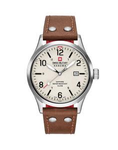 【送料無料】腕時計 ウォッチ スイスアラームアナログswiss military hanowa undercover reloj hombre 642800400205 analgico de cuero marrn