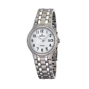 【送料無料】腕時計 ウォッチ チタンドーナorologio festina donna in titanio ref f164611