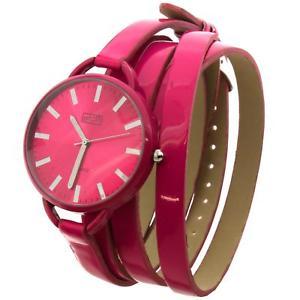 【送料無料】腕時計 ウォッチ ピンクエリアコードマゼンタeton mujer rosa fucsia esfera amp; extralargo magenta multienvolvente