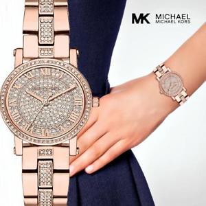 【送料無料】腕時計 ウォッチ オリジナルウォッチプチカップローズゴールドクリスタルoriginal michael kors reloj fantastico mk3776 petite taza rose orocristal nuevo