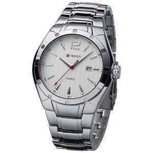 【送料無料】腕時計 ウォッチ クオーツフルスチールビジネスカジュアル2017 curren quartz full steel vogue casual watch men business male relojes h