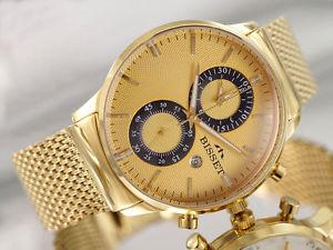【送料無料】腕時計 ウォッチ ゴールドクロノグラフスイスbisset portrige gold bsdd 88 chronograph reloj hombre swiss made reloj de pulsera
