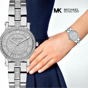 【送料無料】腕時計 ウォッチ オリジナルウォッチプチカップシルバークリスタルoriginal michael kors reloj fantastico mk3775 petite taza platacristal nuevo