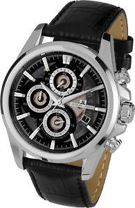 cuarzo fecha 【送料無料】腕時計 sport lemans ウォッチ liverpool 11847a chronograph ジャックルマンスポーツリバプールクロノグラフクオーツjacques