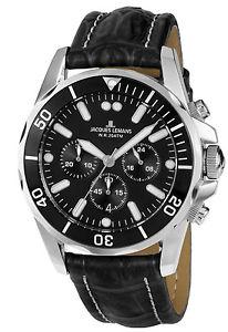 腕時計 ウォッチ ジャックナイツクロノグラフリバプールダイバークロノルマンjacques lemans caballeroschronograph liverpool diver chrono 11907za