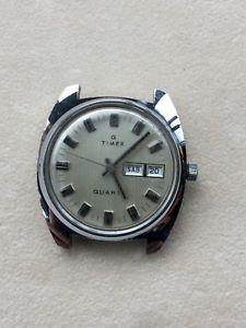 【送料無料】腕時計 ウォッチ クオーツアラームウォッチビンテージtimex quartz reloj watch vintage no funciona 37mm
