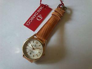 【送料無料】腕時計 ウォッチ アラームダニゴールデンスチールreloj mujer nuevo clasico dani danicci acero dorado womens steel gold watch