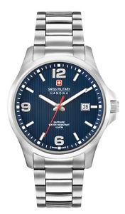 de zafi hanowa inoxidable スイスナイツステンレススチールサファイアクリスタルクロックswiss reloj military obserrver caballeros 06527704003 cristal acero ウォッチ 【送料無料】腕時計