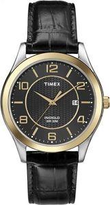 【送料無料】腕時計 ウォッチ アラームペンダントライトtimex reloj t2p450 seores reloj de pulsera con iluminacin luz fecha colgante negro