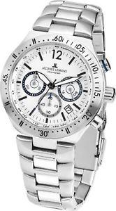 【送料無料】腕時計 ウォッチ ジャックルマンドーバークロノグラフクォーツjacques lemans dover chronograph fecha cuarzo 11837g