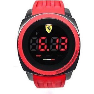 送料無料 ☆正規品新品未使用品 腕時計 ウォッチ アラームフェラーリreloj ferrari 830228 激安通販専門店