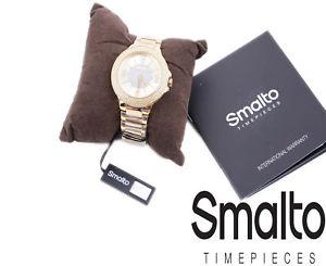 腕時計 ウォッチ ファッションステンレススイスreloj de pulsera smalto st1l089m0061 para mujer acero inoxidable reloj de moda hecho en suiza