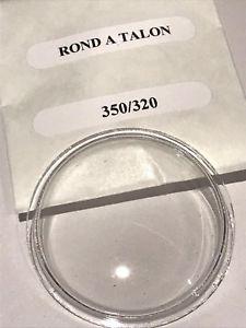 【送料無料】腕時計 ウォッチ クリスタルプラスチックヴィンテージクロノグラフクラムシェルサイズcrystal, plastic, vintage chronograph clamshell brevet n189190 size 32x35 mm