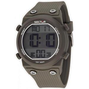 【送料無料】腕時計 ウォッチ セクターシリコーンクロノアラームorologio uomo sector rapper r3251582003 silicone grigio chrono alarm digitale