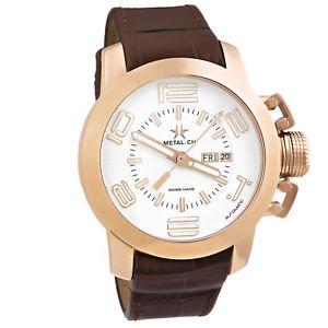 【送料無料】腕時計 ウォッチ グランドスイスピンクゴールドクロックmetalch chronometrie grand ahora automtico oro rosa reloj de hombre suizo