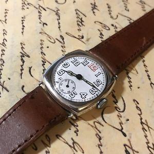 【送料無料】腕時計 ウォッチ エジンバラreloj de pulsera antiguo oficiales trincheramilitar plata 15 joya de importacin de edimburgo